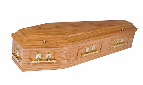 Abbey Sold Coffin